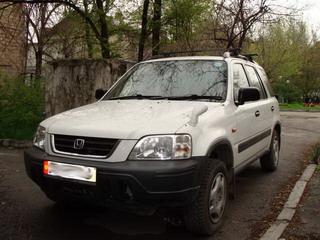 Наша Honda CRV