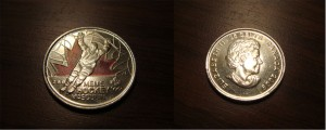 Вот такие бывают канадские 25 центов!